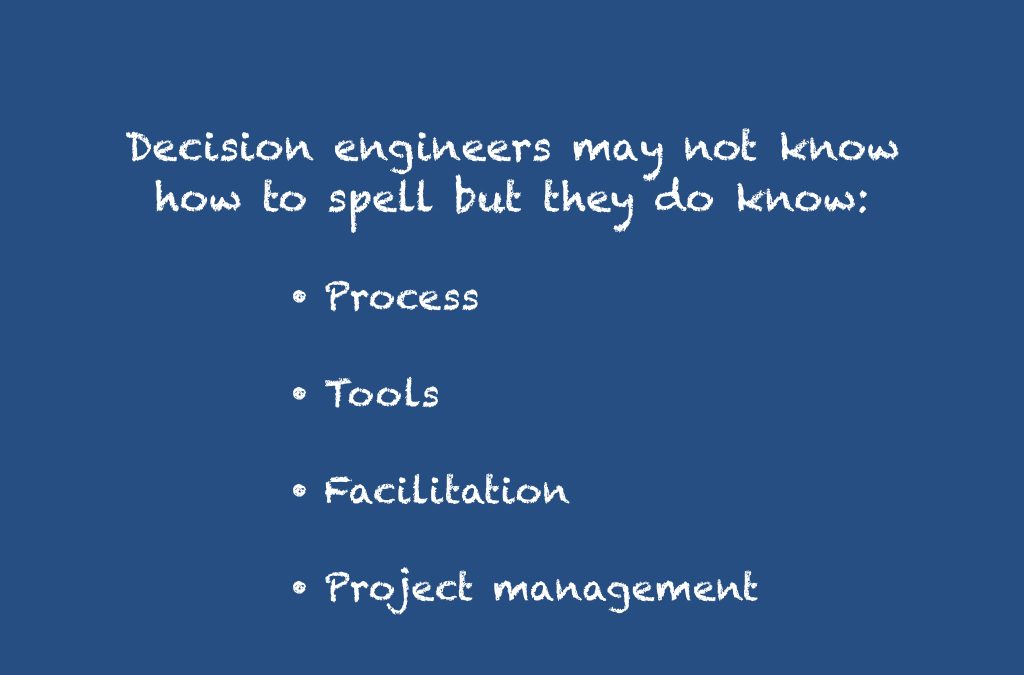 What is a decision engineer?